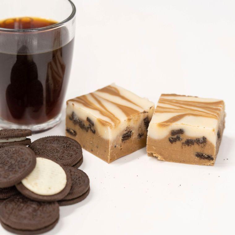 Coffee & Cookies Fudge