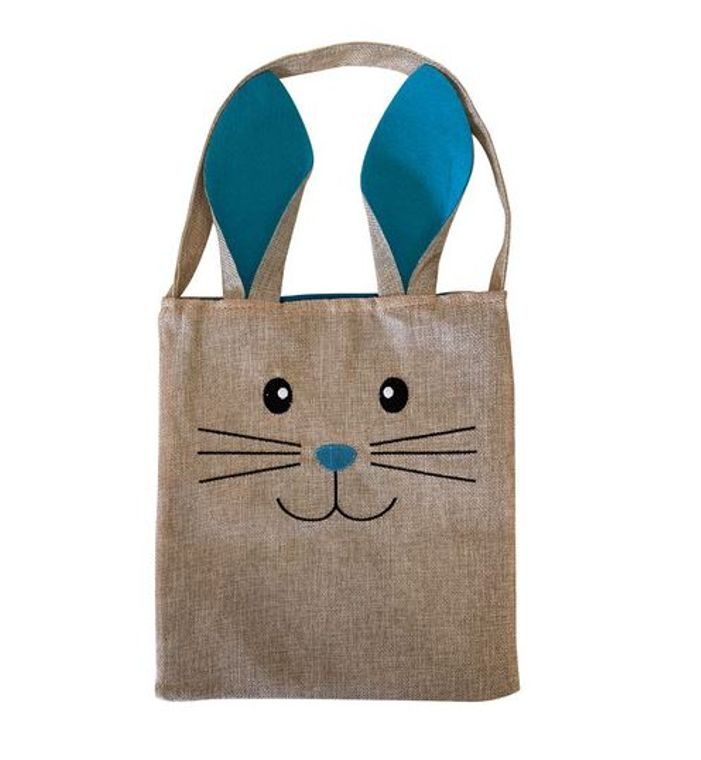 Tote Bag - Bunny -Blue