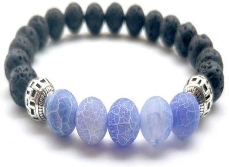 Blue Lava Stone Essential Oil Bracelet