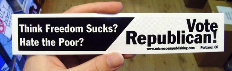 Sticker #077: Vote Republican