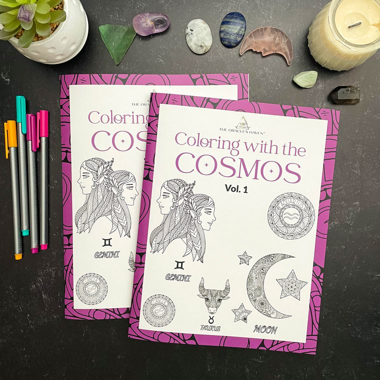 Coloring with the Cosmos Vol. 1