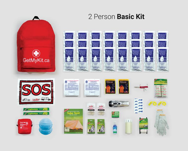 2 Person Emergency Kit