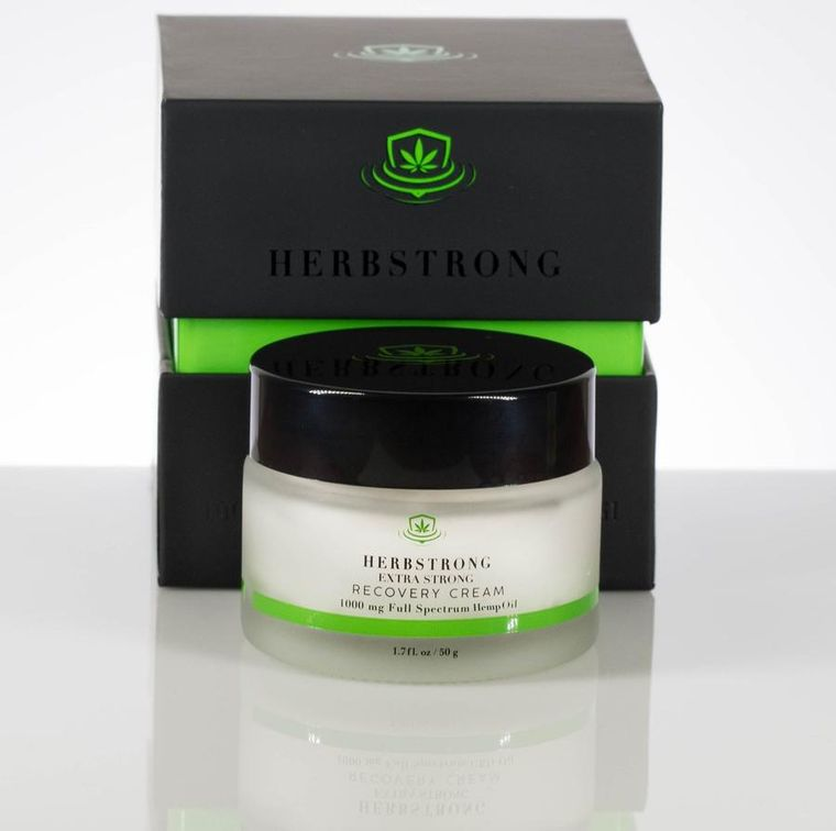 Extra Strong Full Spectrum Hemp Oil Recovery Cream