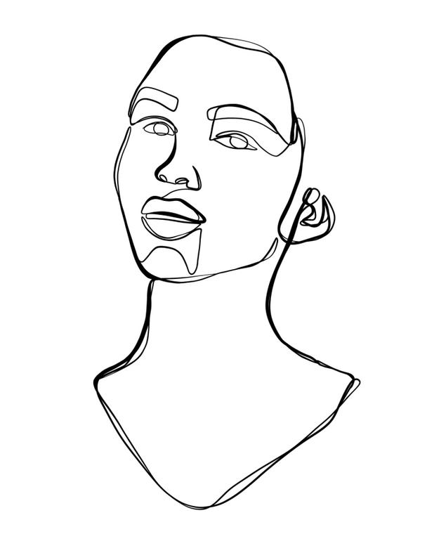 Portrait No.2 - 8x10 Print