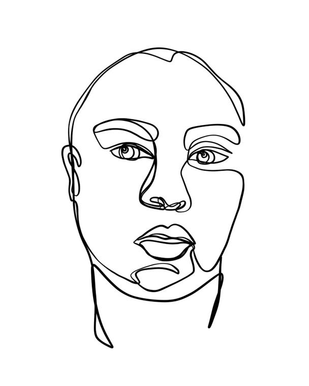Portrait No.4 - 8x10 Print