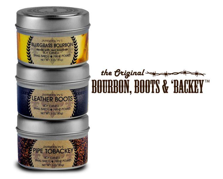 Bourbon, Boots, & 'Backey 3 oz Candle Sample Pack™