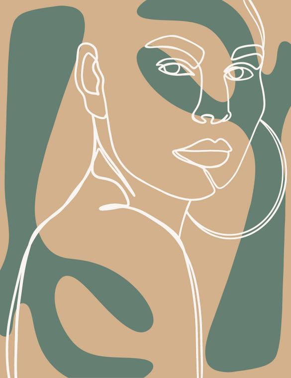 Desert Girl - 8x10 Print