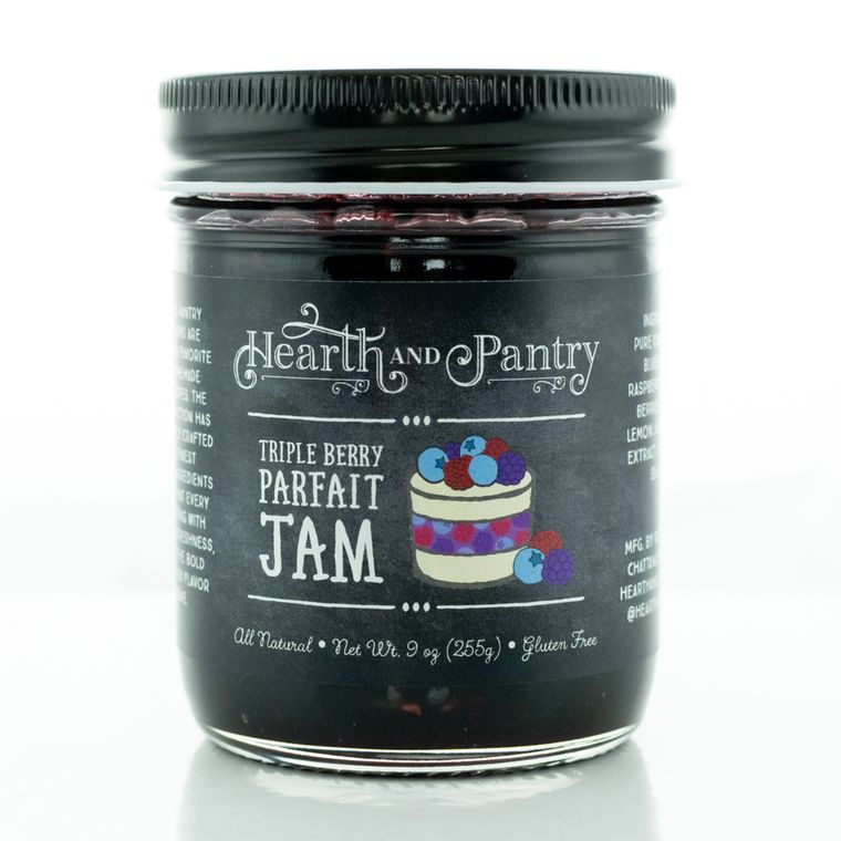 Hearth and Pantry Triple Berry Parfait Jam