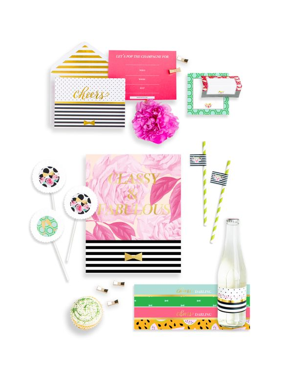 Classic Kate Mini Party Box - Themed Party Supplies