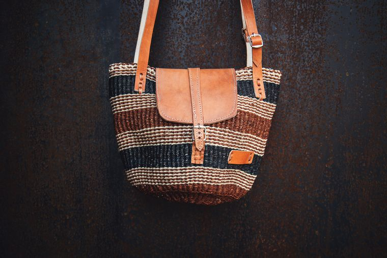 Earth Tone Kiondo bag