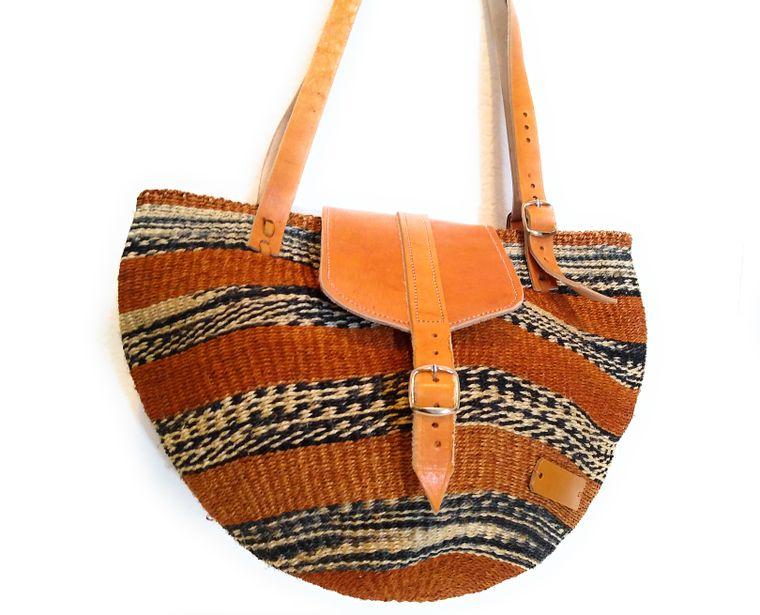 Artesian Spring Sisal Kiondo Bag