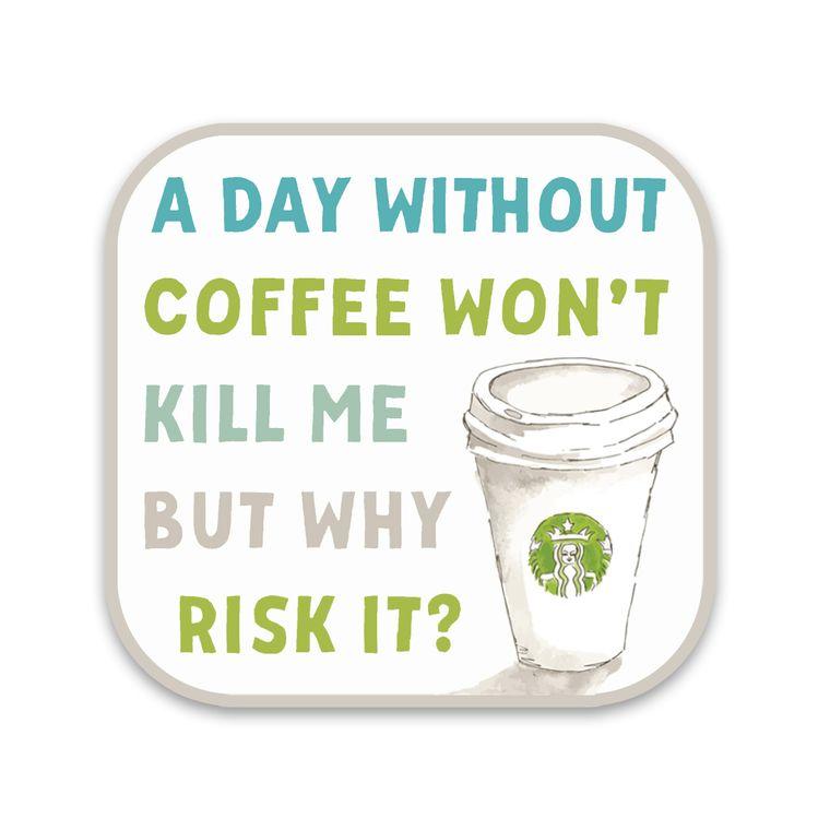 Sticker Coffee Kill Me