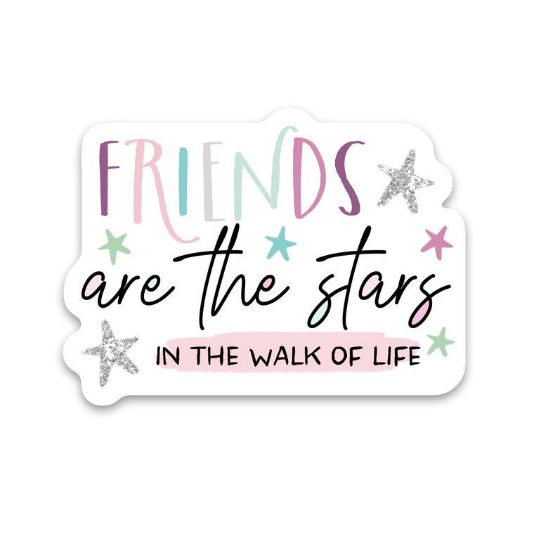 Sticker Friends Are The Stars