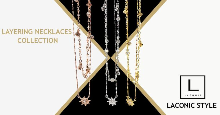 Laconic Style Layered Necklace Collection