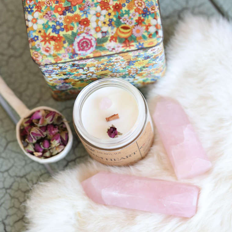 Warm Heart' Soy Candle