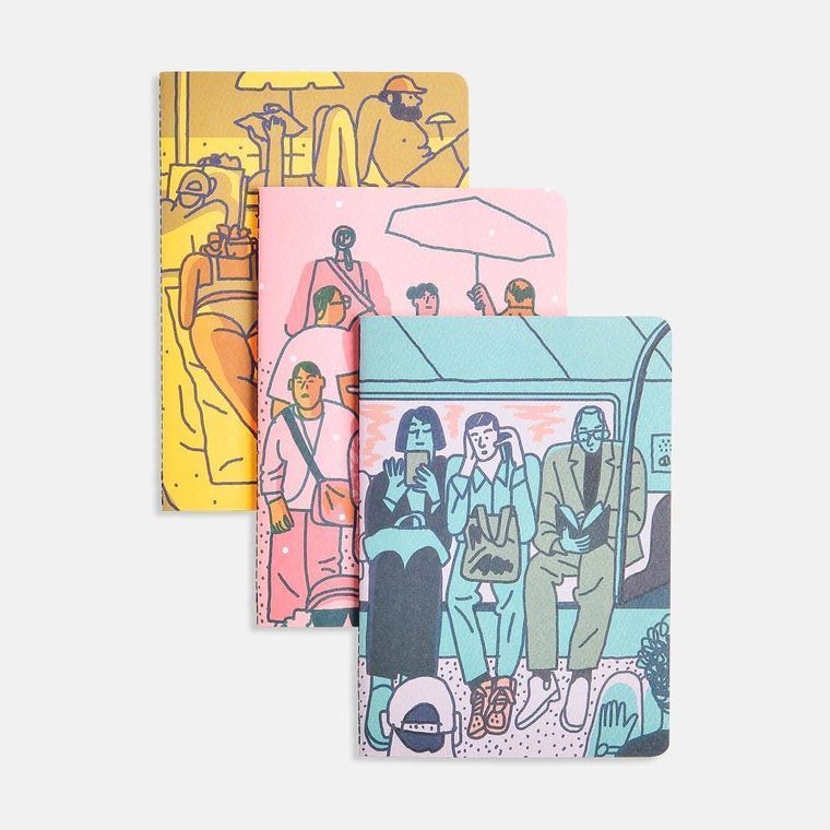 New York City Softcover Notebooks