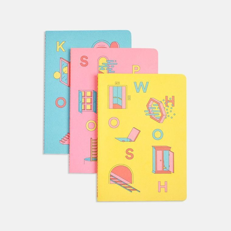 Portals Softcover Notebooks