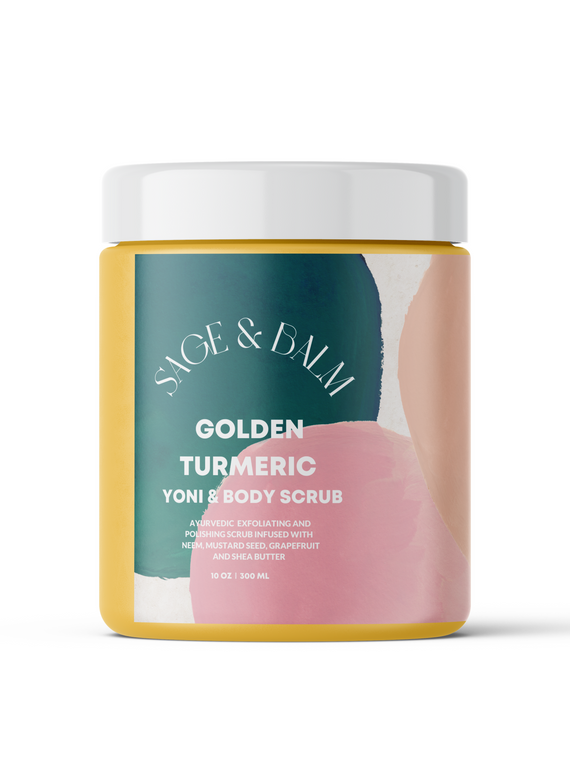 Golden Turmeric Yoni + Body Scrub