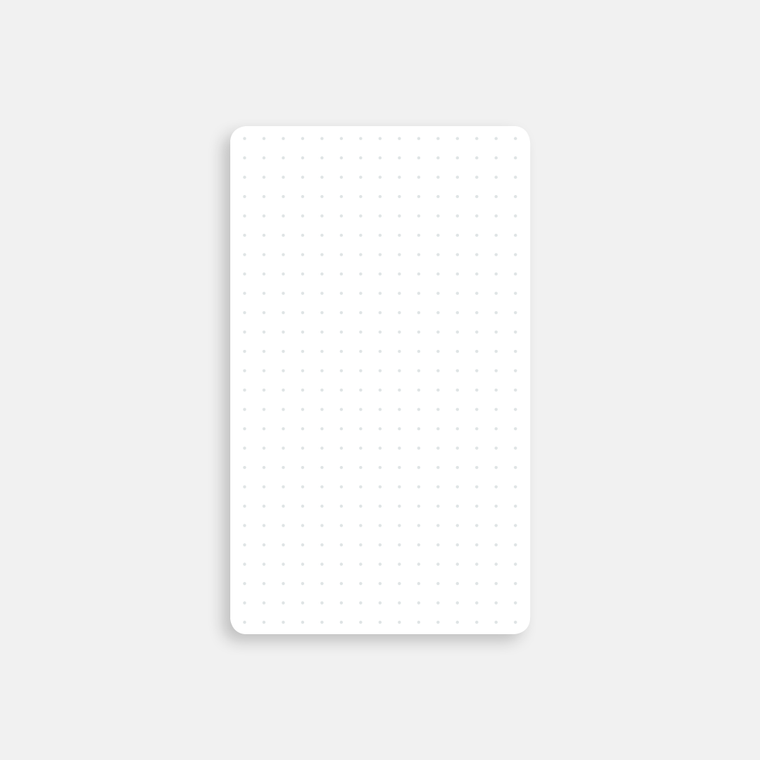 Strategist Dot Grid Index Cards