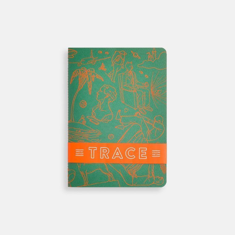Trace Softcover Notebook