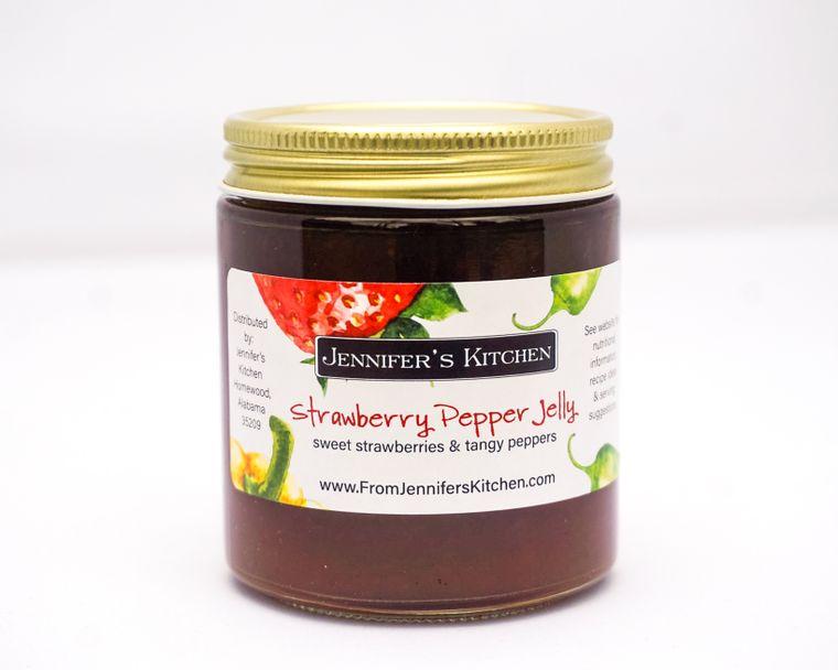 Mini Strawberry Pepper Jelly (4 oz)