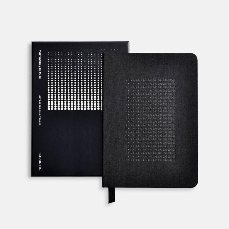 Work/Play III Hardcover Notebook