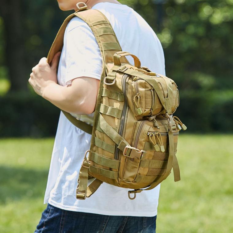 Tactical Military Medium Sling Range Bag