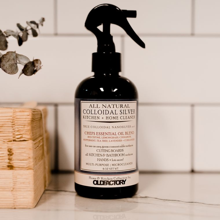 Colloidal Silver Home, Kitchen & Hands Cleaner