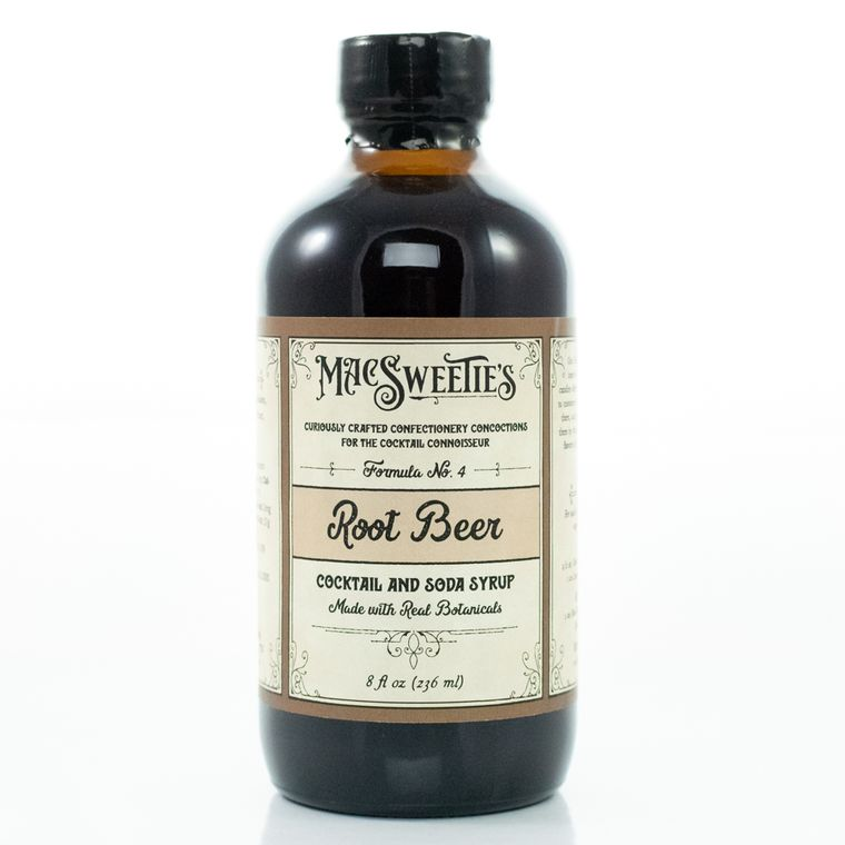 MacSweetie's Root Beer Cocktail and Soda Syrup