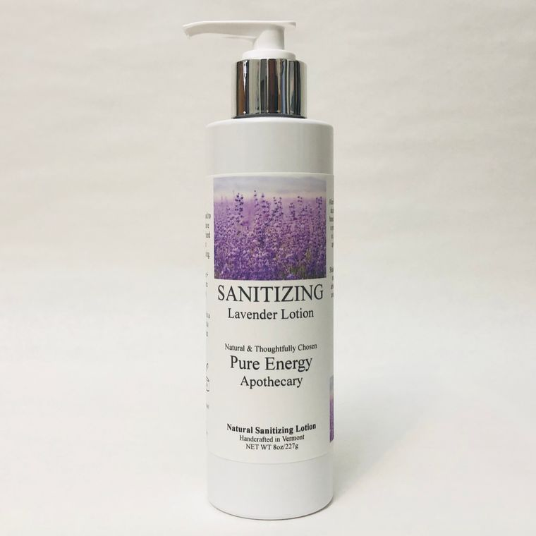 Sanitizer 8 oz - Lavender