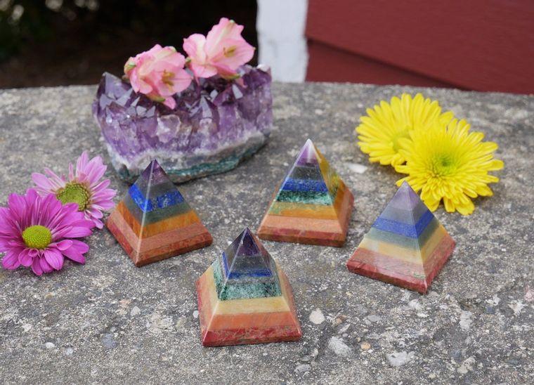 Chakra Large Pyramids