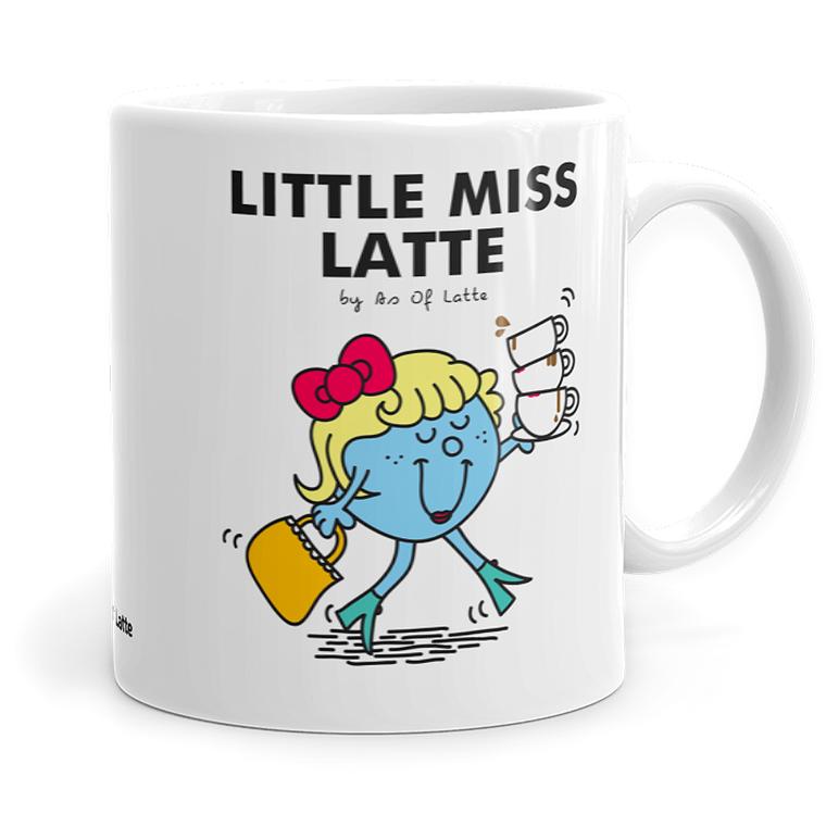 Little Miss Latte - Ceramic Coffee Mug