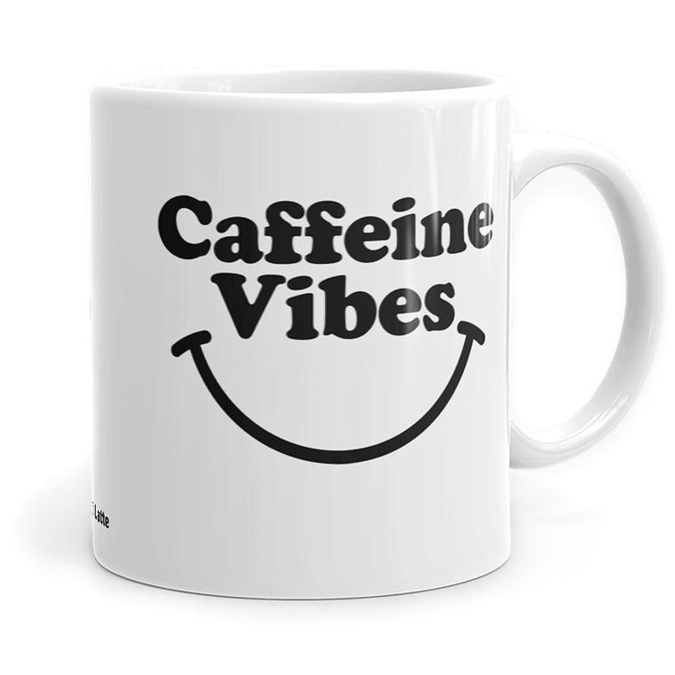 Caffeine Vibes - Ceramic Coffee Mug
