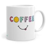 Coffee Smiley - Ceramic Coffee Mug