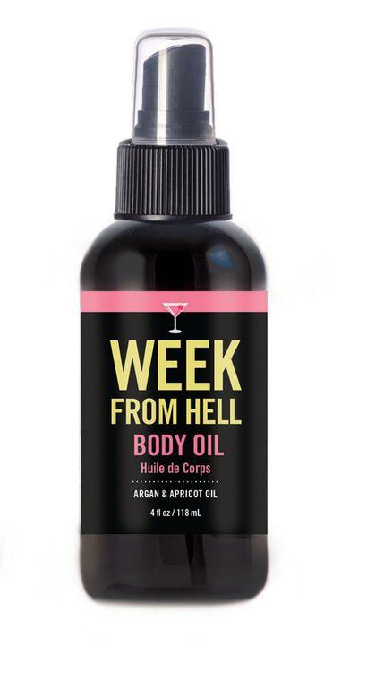 Body Oil Spray - Week from Hell