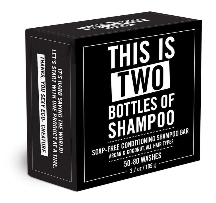 This is Two Bottles of Shampoo