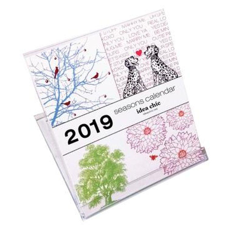 Idea Chíc Desk Calendars
