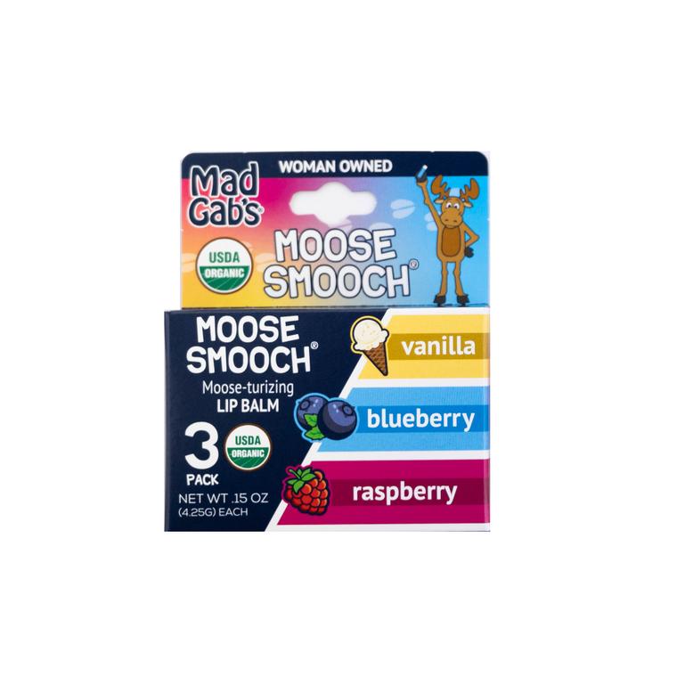 Organic Moose Smooch 3 Pack