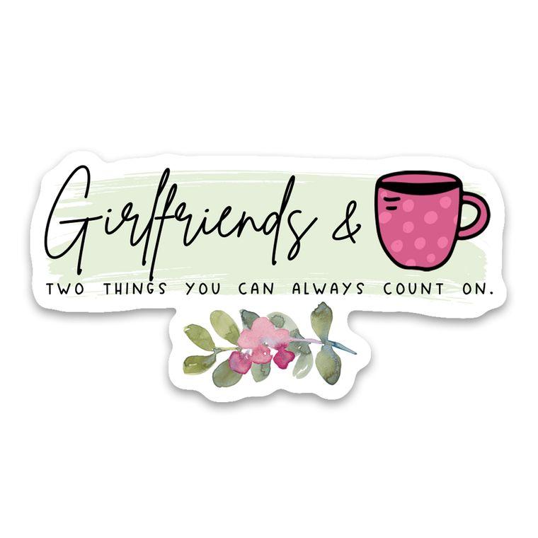 Sticker Girlfriends & Coffee