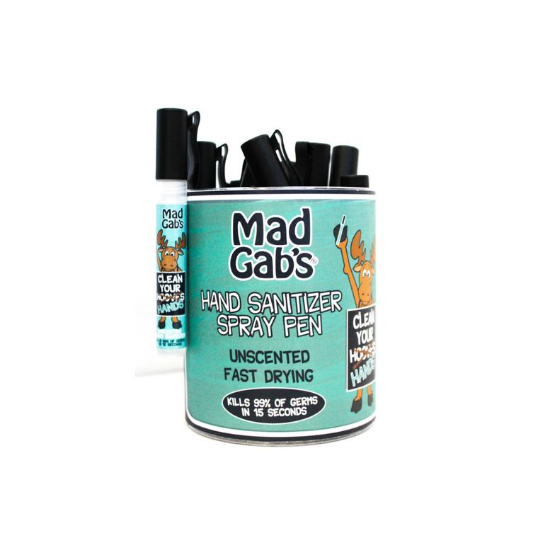 Moose Hand Sanitizer Spray Pen 20 Pc Display