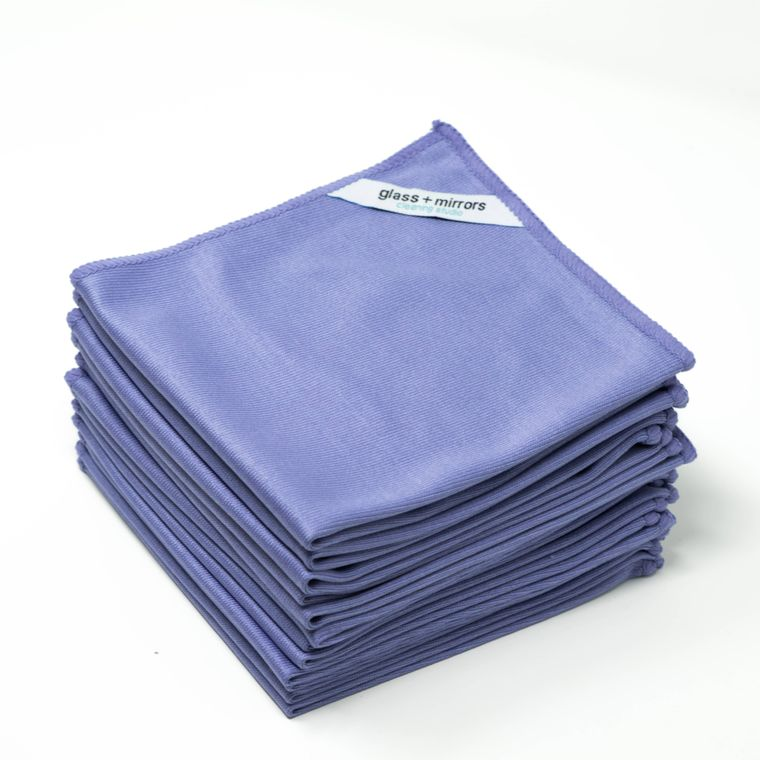 Glass + Mirrors Microfiber Cleaning Cloth (50-Pack)