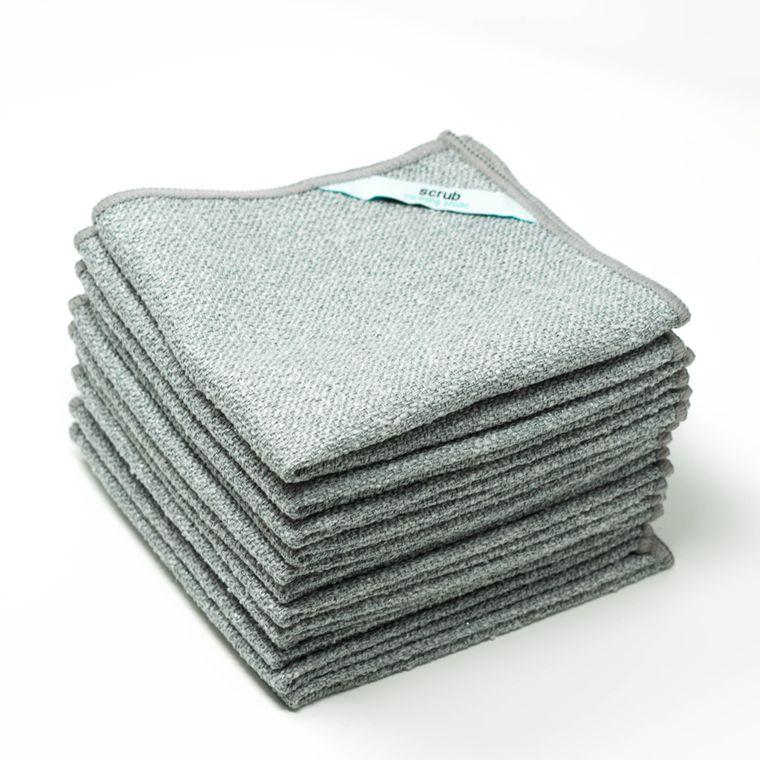 Scrub Microfiber Cleaning Cloth (Bulk-Pack)