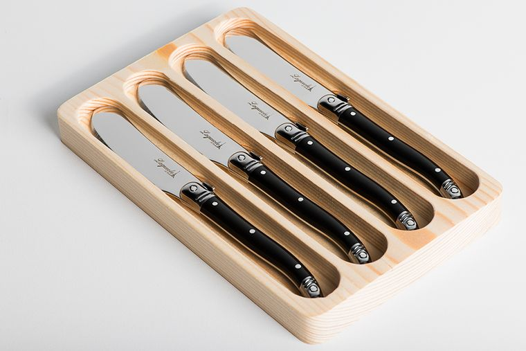 Laguiole luxury butter knives 4-set