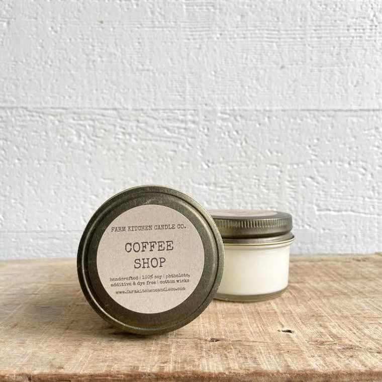 Coffee Shop soy candle- mini