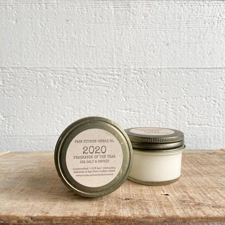 2020 FRAGRANCE OF THE YEAR soy candle- mini