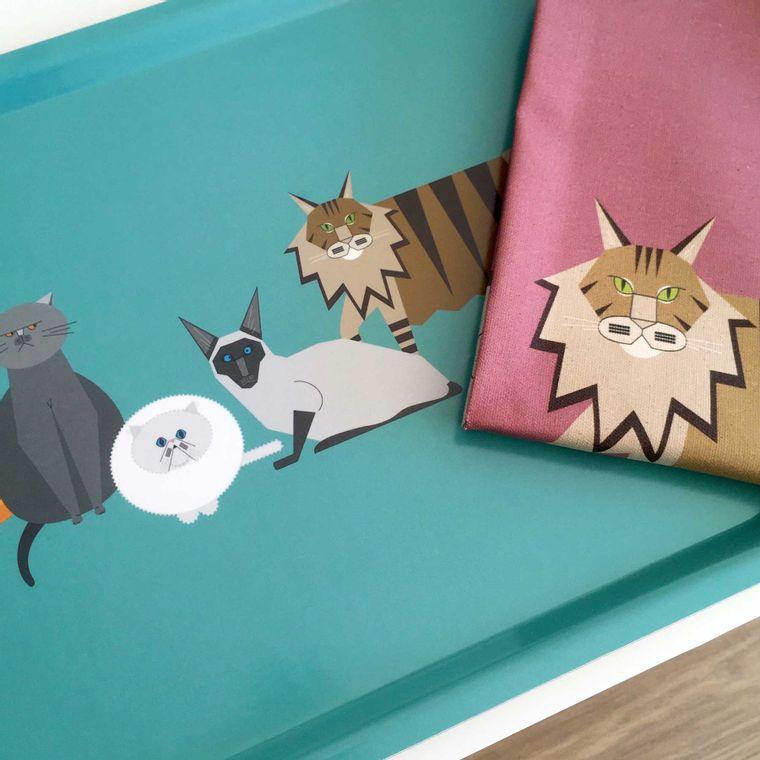 Cat Characters Homeware Bundle