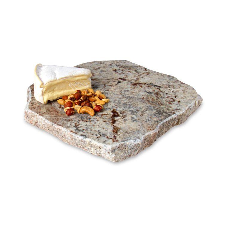Chiseled Edge Granite Lazy Susan