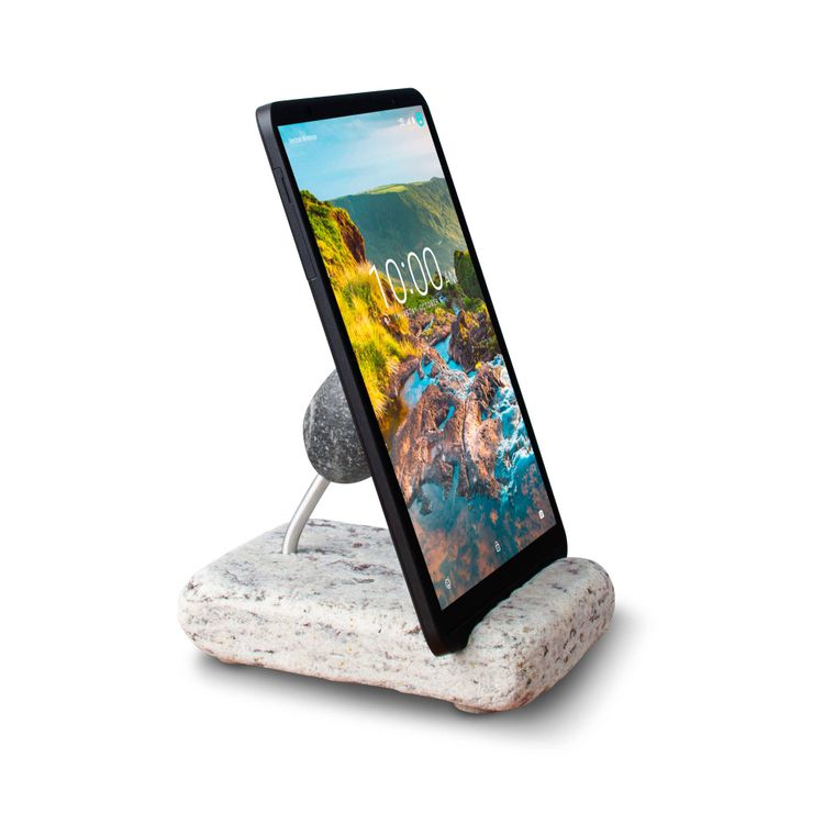 Hold The Phone Natural Stone Phone and Tablet Holder