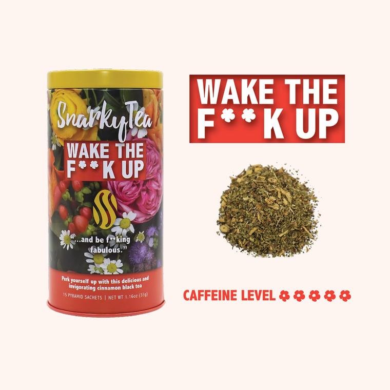 Wake The F**k Up Tea