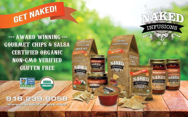 Naked Infusions Gourmet, Organic Salsa & Chips
